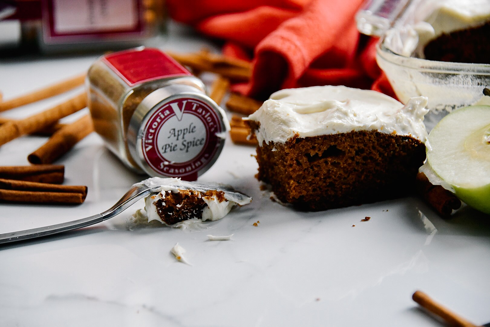 apple pie spice cake victoria gourmet recipe