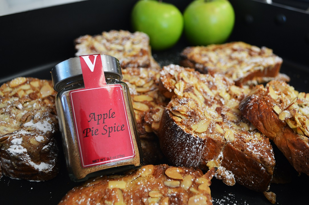 apple spice brioche toast victoria gourmet recipe