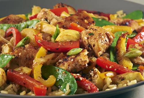 sesame teriyaki chicken stir fry seasoning victoria gourmet recipe