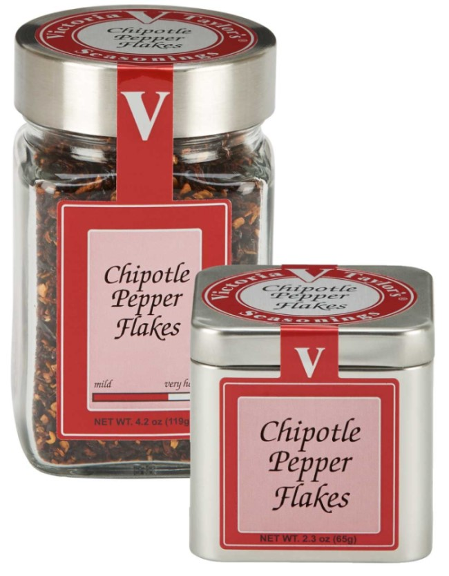 chipotle pepper flakes smoked satisfying victoria taylor