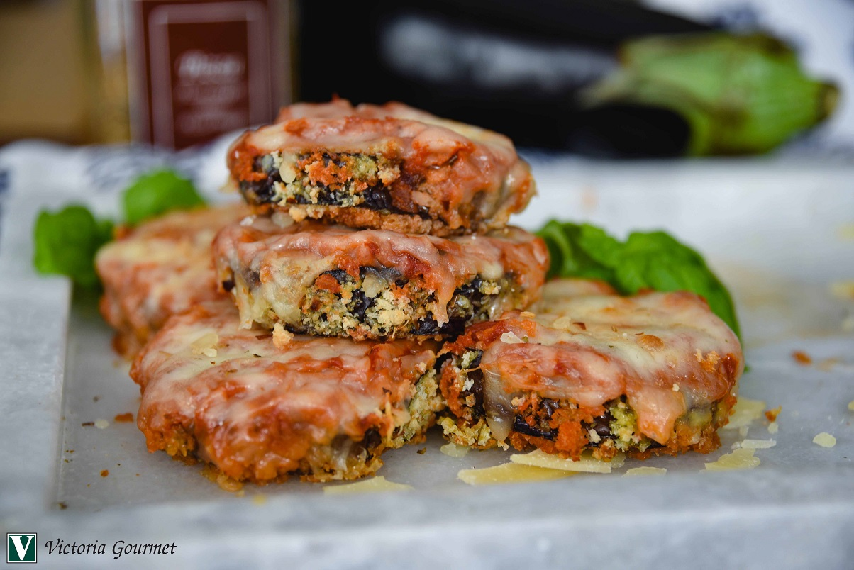 eggplant parmesan pizza seasoning victoria gourmet recipe