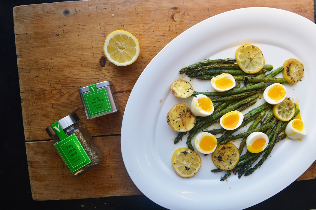 zesty lemon asparagus herb spices victoria gourmet recipes