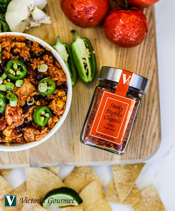 smoky santa fe chicken paprika seasoning victoria gourmet recipes