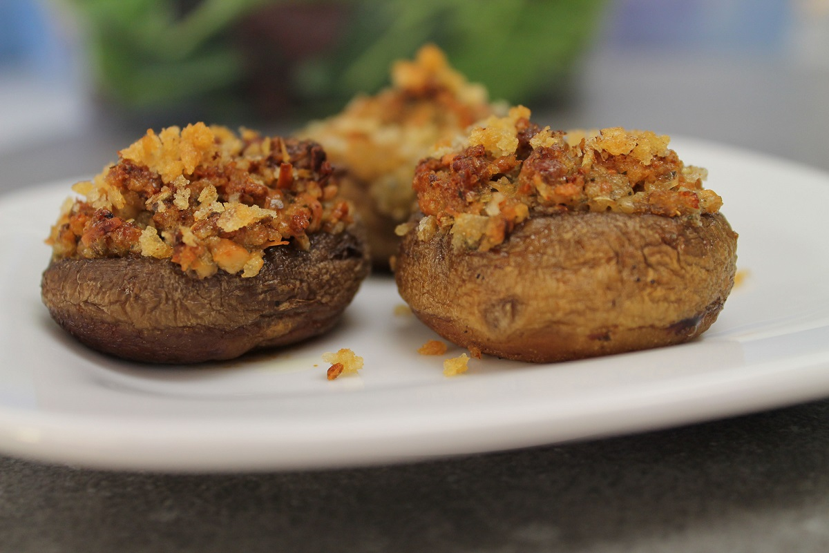 stuffed mushrooms herbes de provence victoria gourmet recipes