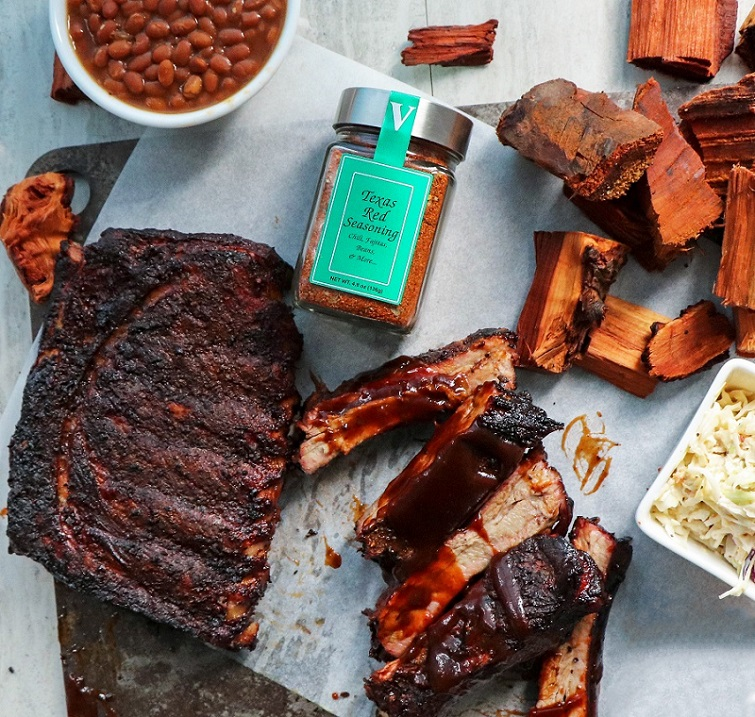 st louis ribs texas red seasoning victoria gourmet recipes