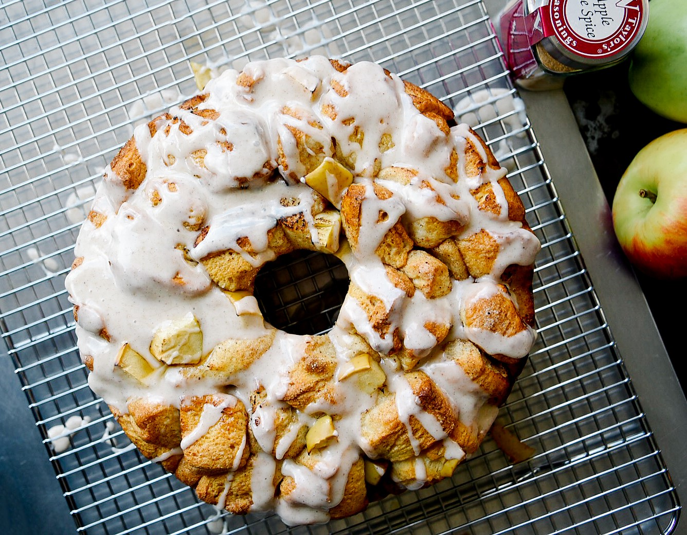apple pie spiced monkey bread victoria gourmet recipe