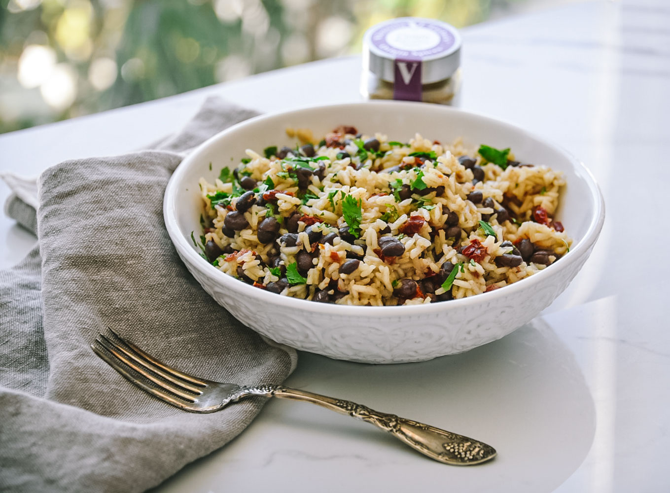 black beans rice cumin victoria gourmet recipe