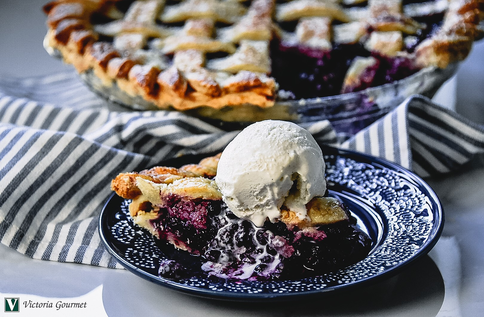 ultimate blueberry pie spices victoria gourmet recipes