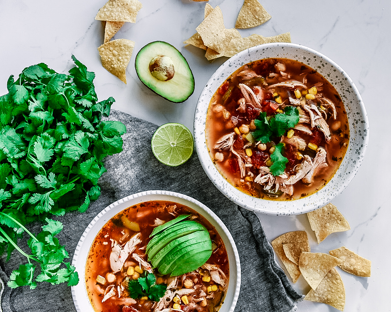 chicken tortilla soup cinnamon chile rub victoria gourmet recipe