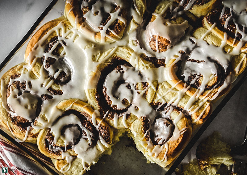 cinnamon rolls simple homemade sweet victoria gourmet recipe