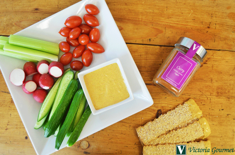 classic curry dip seasoning flavorful victoria gourmet recipe
