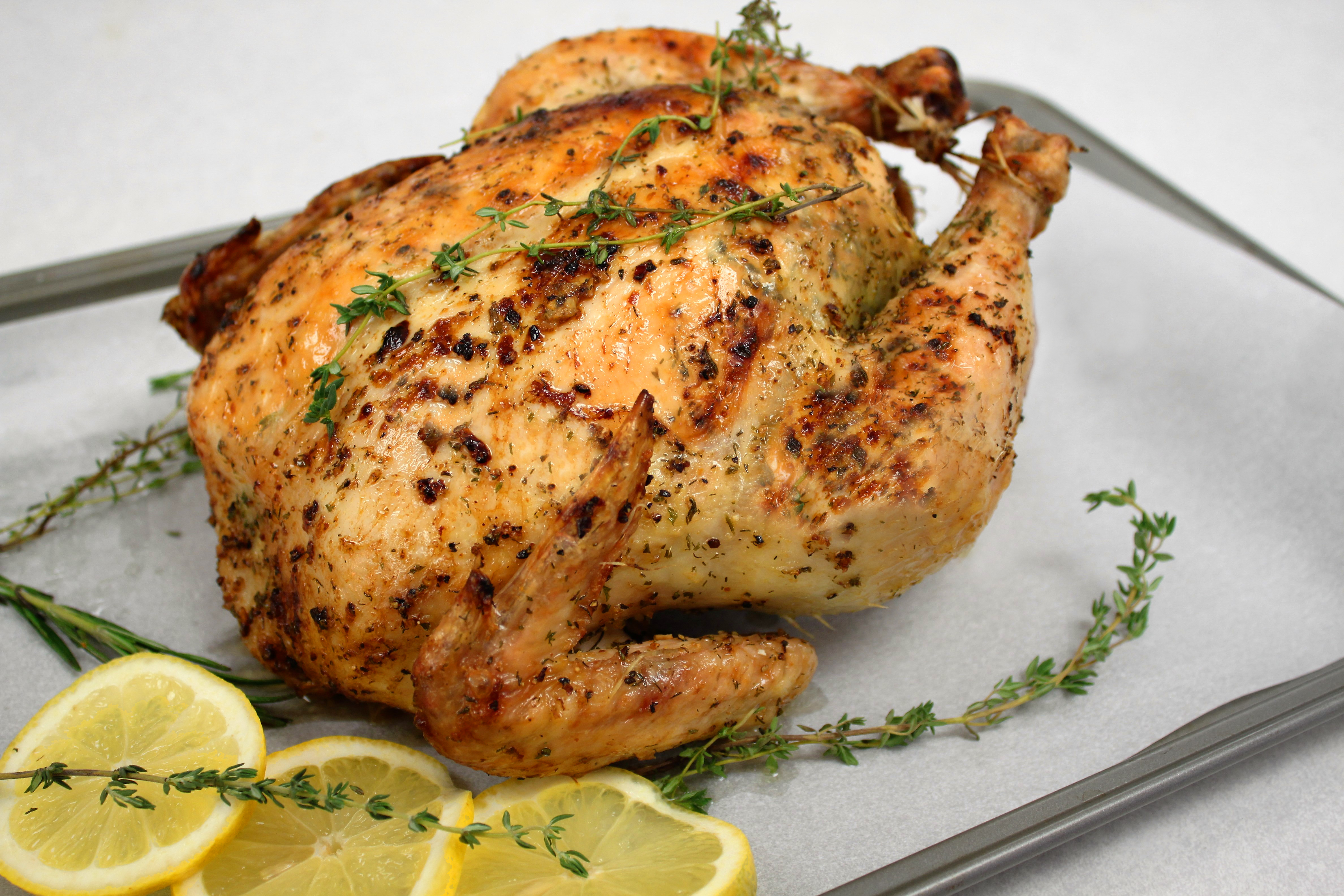 zesty lemon herb roasted chicken spices victoria gourmet recipes