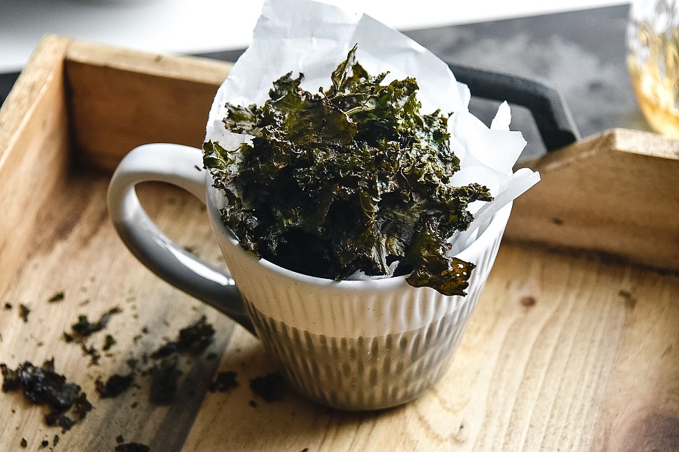 spicy kale chip recipe seasoning victoria gourmet recipes