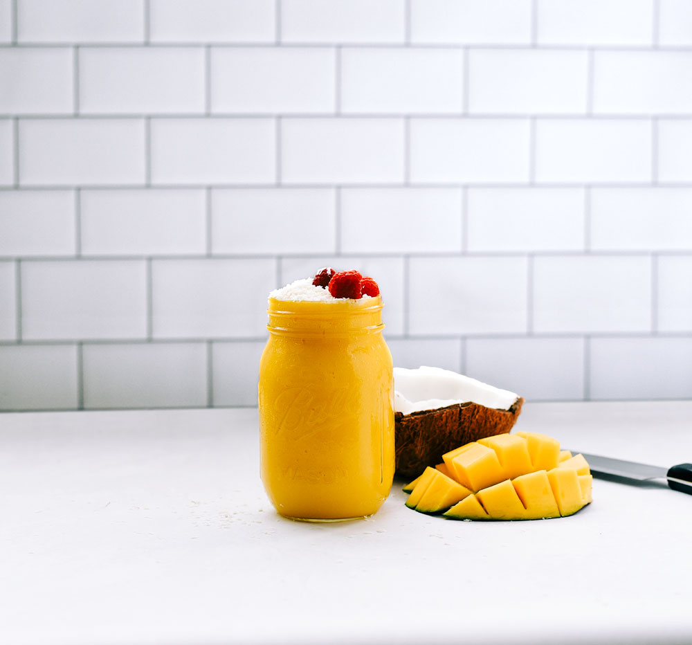 smoothie mango turmeric tea spices victoria gourmet recipes
