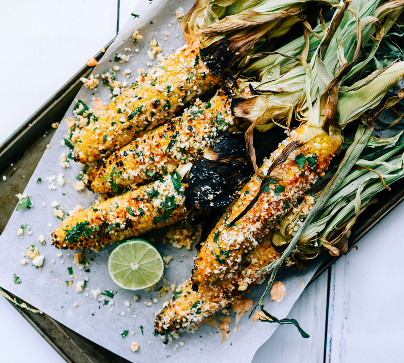 mexican street corn grilled smoky paprika victoria gourmet recipe