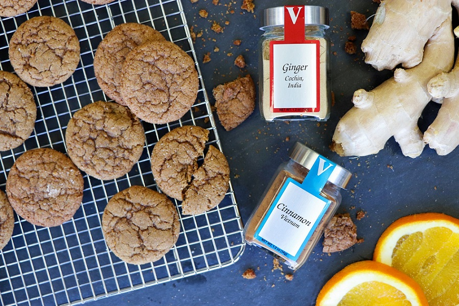 ultimate ginger cookies cochin ginger spices victoria gourmet recipes