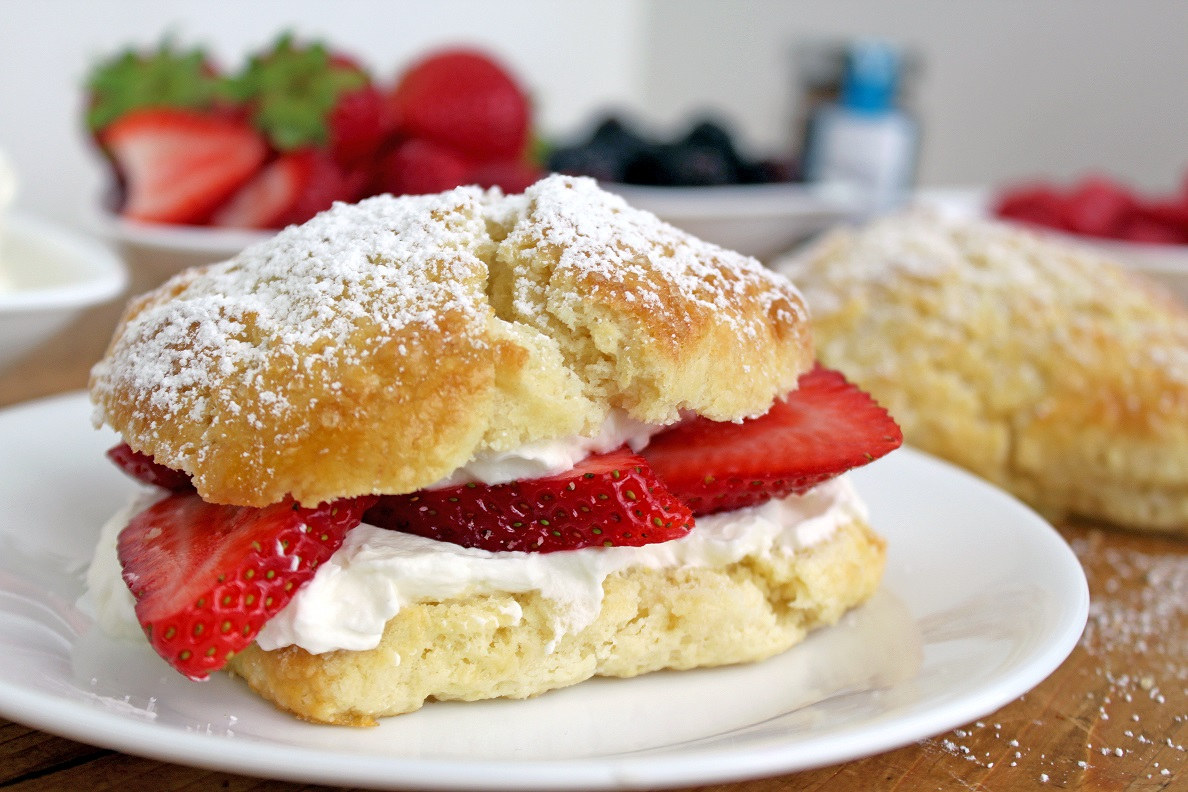 triple ginger strawberry shortcake victoria gourmet recipes