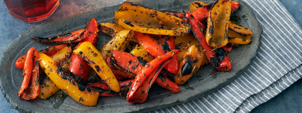 sicilian grilled pepper recipe seasoning spices victoria gourmet recipes