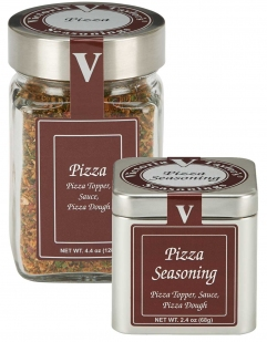 pizza seasoning mix garlic flakes italy victoria taylor
