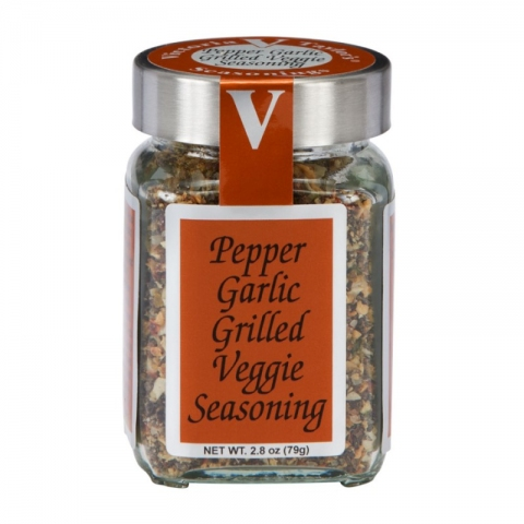 pepper garlic grilled veggie seasonings victoria taylor