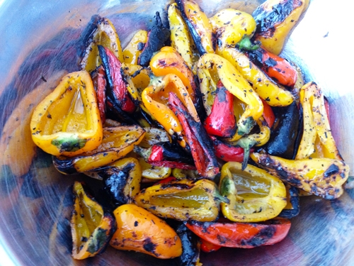Sicilian Grilled Peppers