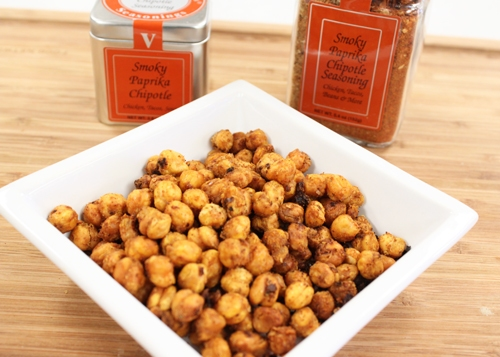Spicy Smoky Paprika Chipotle Chickpeas