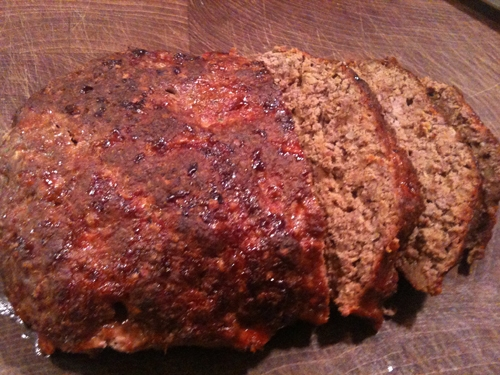 Simple Weeknight Classics- Toasted Onion Herb Meatloaf