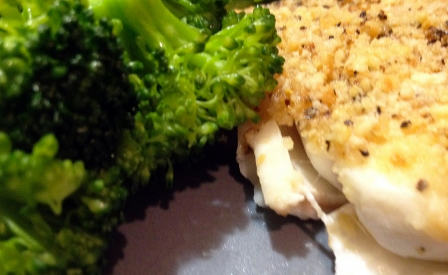 Lemon Pepper Baked Haddock