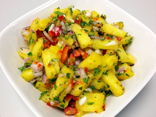 Pineapple Salsa with Victoria Taylor's Ginger Citrus Seasoning