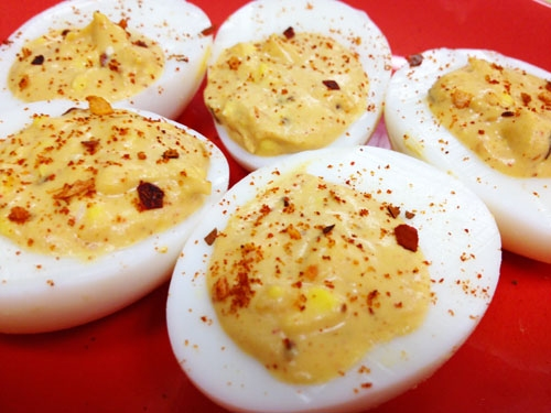 Smoky Paprika Chipotle Deviled Eggs