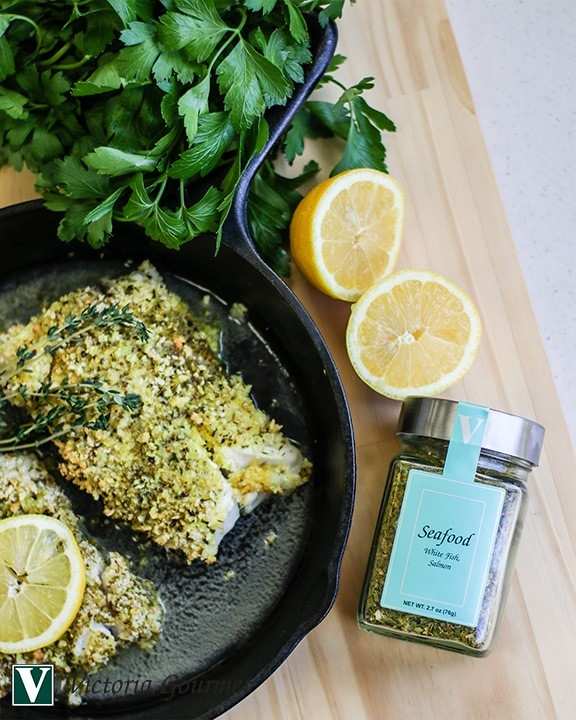 oven baked white fish seafood seasoning victoria gourmet recipe