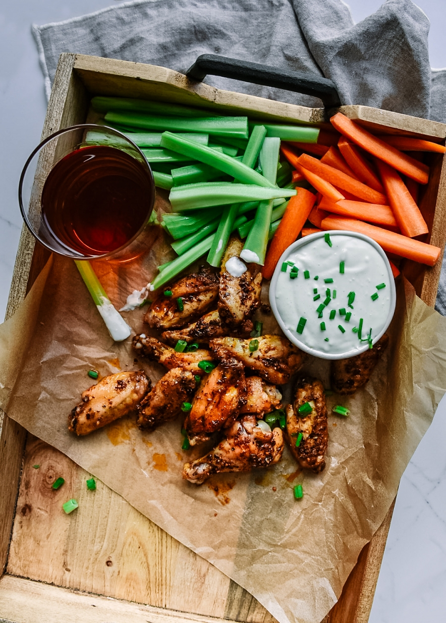 spicy new orleans chicken wings spices victoria gourmet recipes