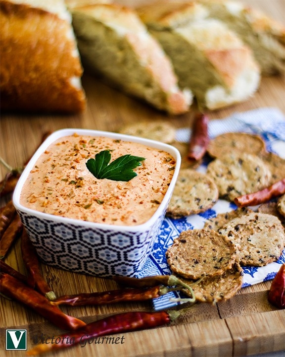 roasted red pepper dip new orleans seasoning victoria gourmet recipes
