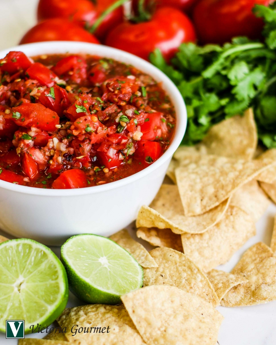 summer salsa fire-roasted onions jalapeno victoria gourmet recipes