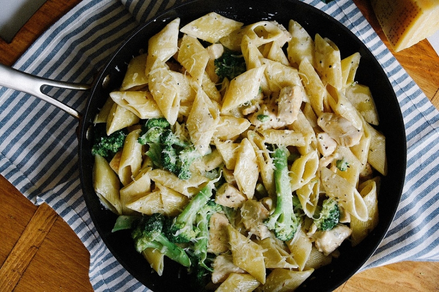 chicken broccoli ziti mediterranean seasoning victoria gourmet recipe