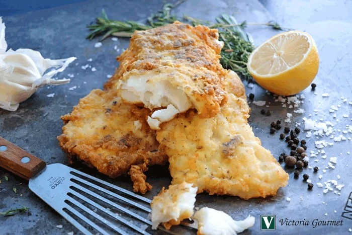 Greek Isles Crispy Fried Fish Fillets