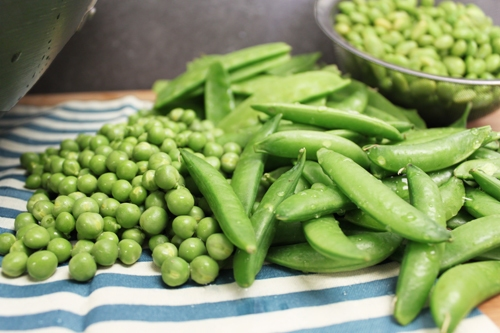 Peas Gone Crazy Stir Fry