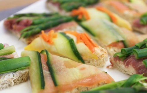 Modern Tea Sandwiches