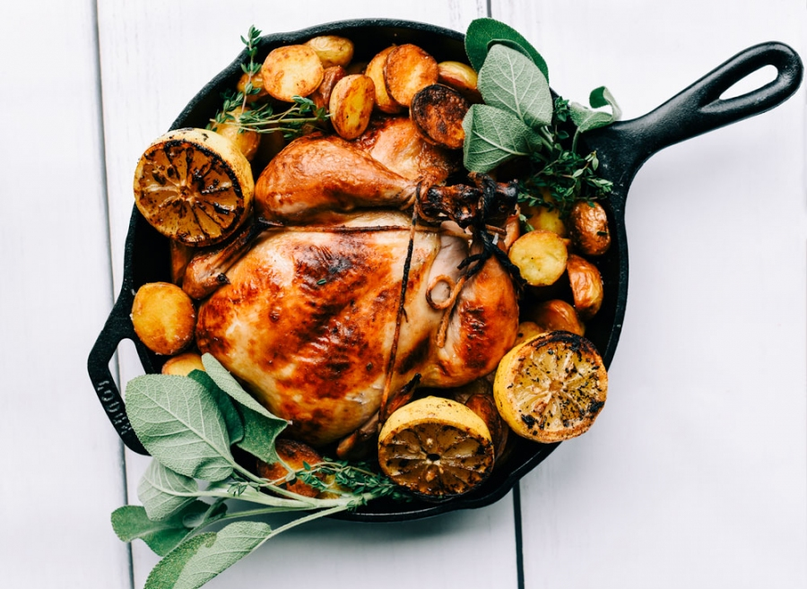 roasted chicken traditional brining blend spices victoria gourmet recipes