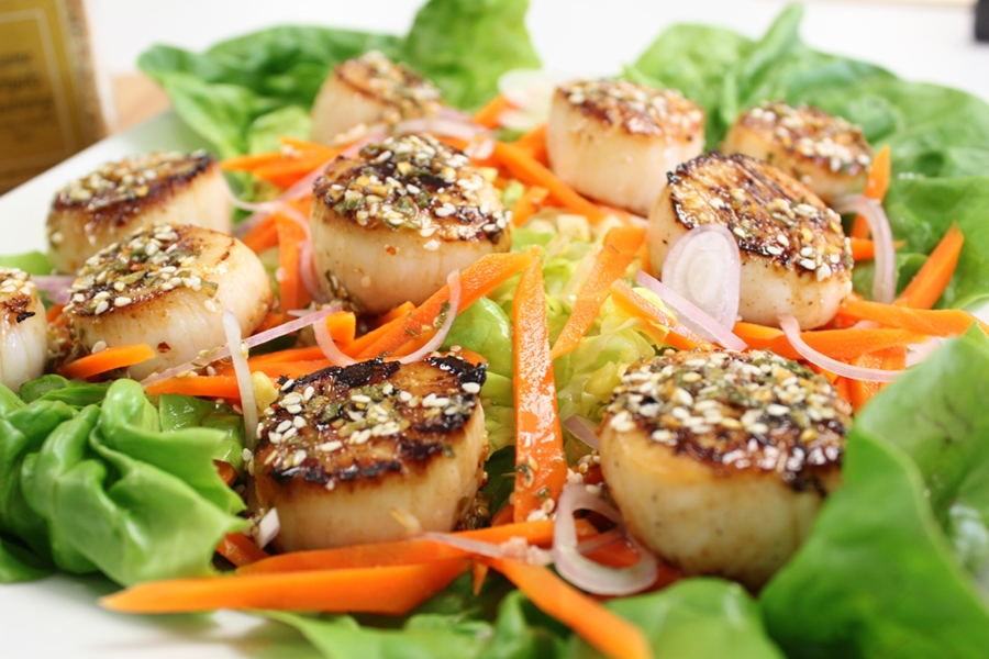 scallops curry sauce seasoning spices victoria gourmet recipes