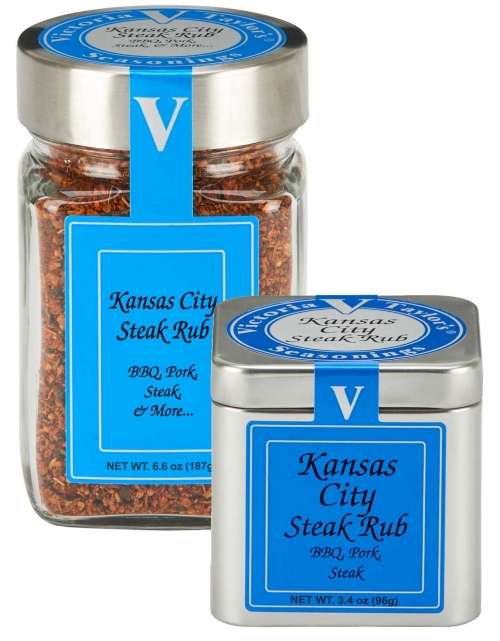 steak rub kansas victoria taylor