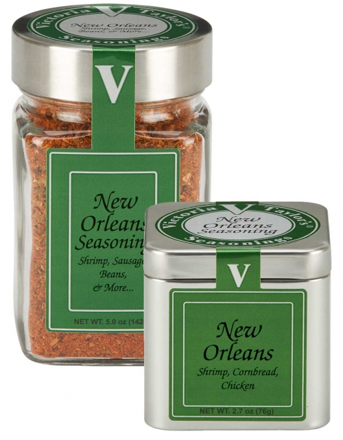 new orleans spice seasoning heat victoria taylor