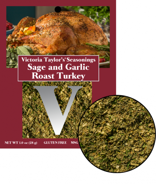 sage garlic turkey recipe herbs victoria taylor