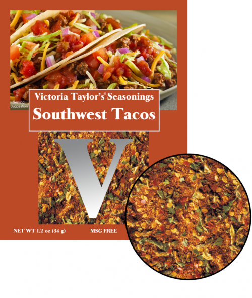 southwest tacos recipe seasoning pungent spicy victoria taylor