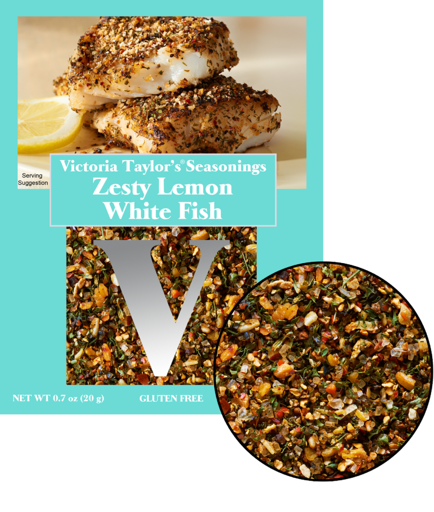 zesty lemon whitefish recipe seasoning victoria taylor