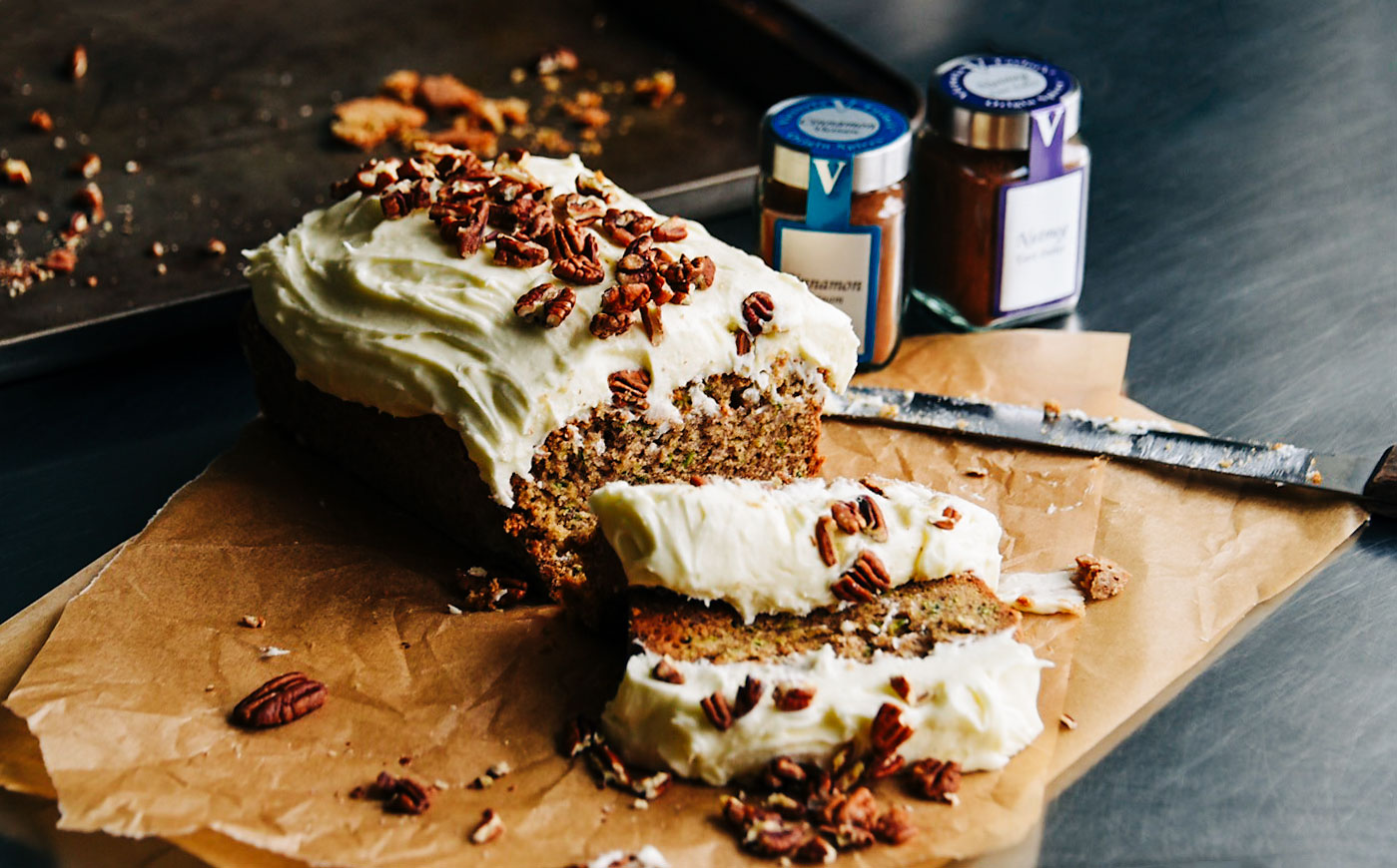 zucchini bread cinnamon spices victoria gourmet recipes